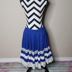 Vintage Malco Modes Square Dance Skirt